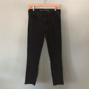 Articles of Society Black Skinny Ankle Jeans GUC